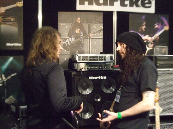 David Ellefson with Dan2