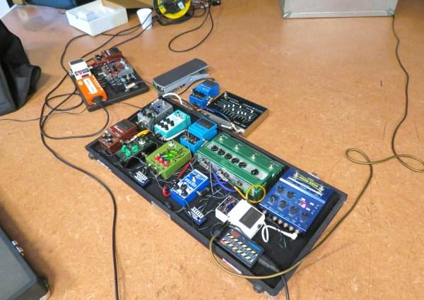 Sibob's pedalboard