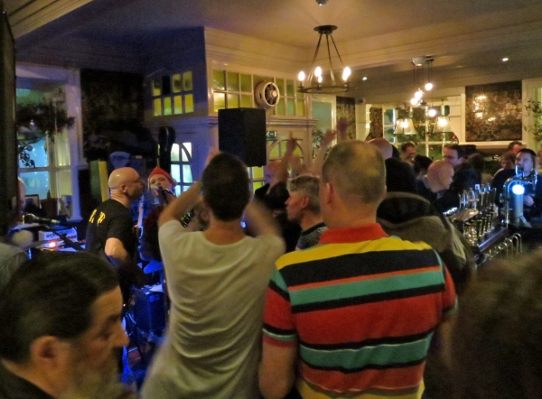 JD @ The Tabard -audience