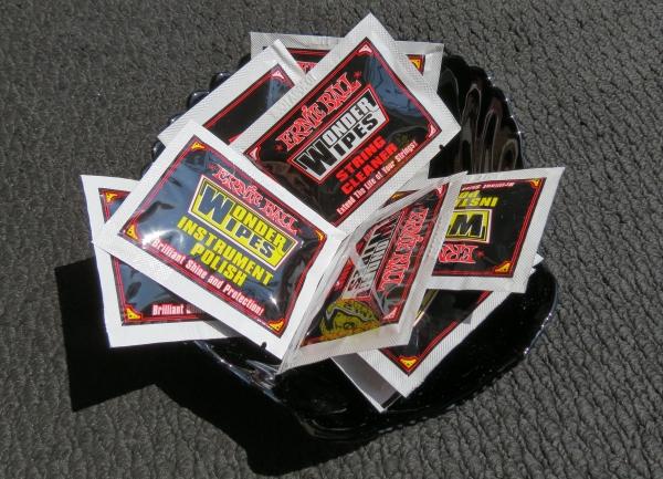 Free wipes
