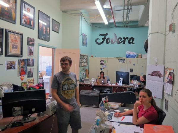 Fodera Shop - Reception
