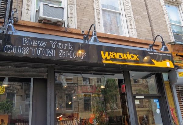 Warwick NYC  shop front