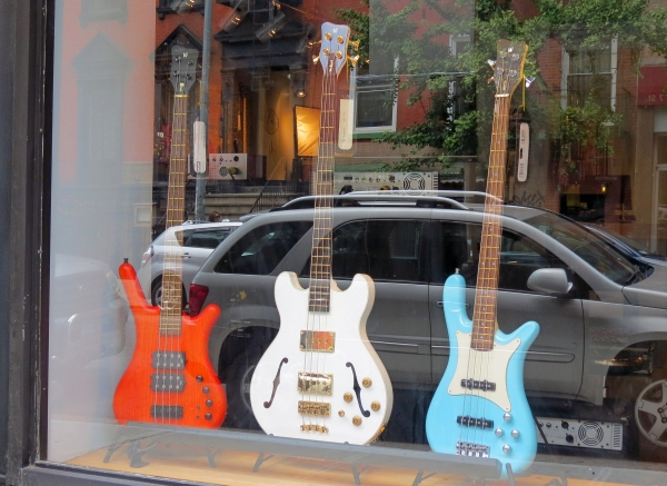 Warwick shop window