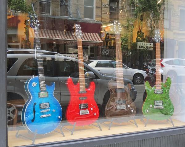 Framus shop window